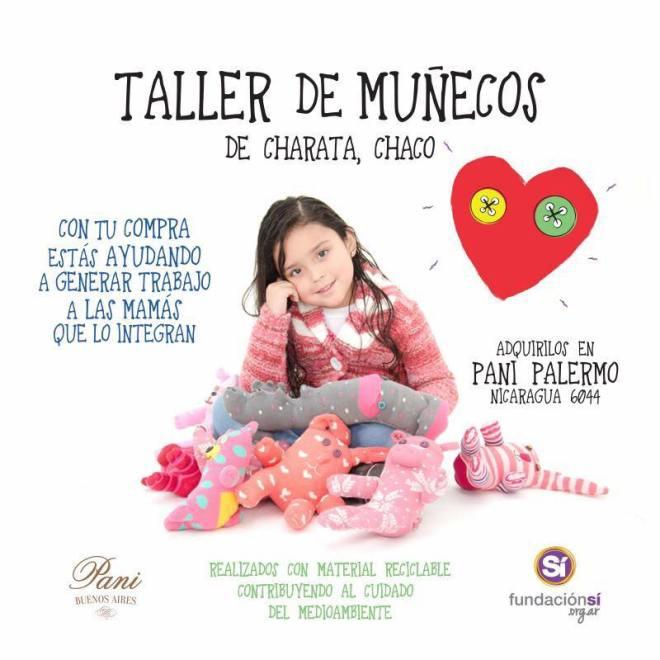Taller de muñecos-Fundación Si y Pani